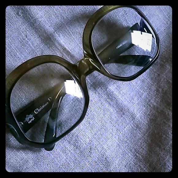 ccb9822eb5 Dior Accessories - Vintage Christian Dior 70 s Oversized Sunglasses